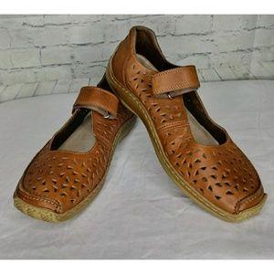 Rieker Anti-Stress Mary Jane Shoes SZ 40/10